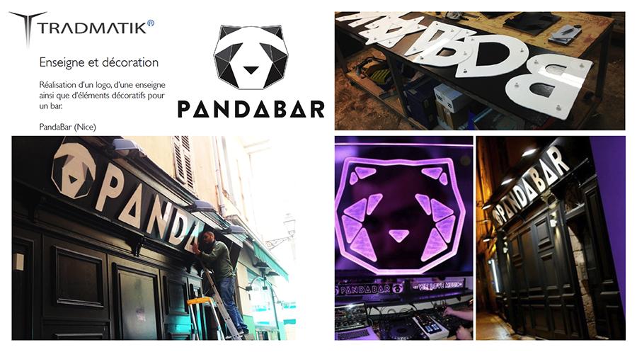 PandaBar - tradmatik
