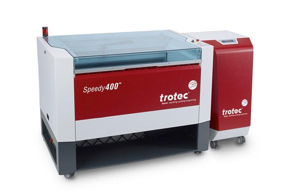 trotec speedy 400 découpe laser - tradmatik